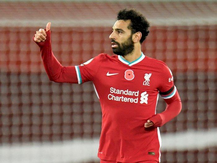 Liverpool Konfirmasi Mo Salah Sudah Negatif Covid-19, Siap Beraksi Kembali