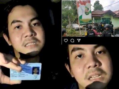 Detik-detik Pemuda Pucat Diciduk usai Sebut Brimob Kacung China, 'Kau Lihat Wajah Saya'