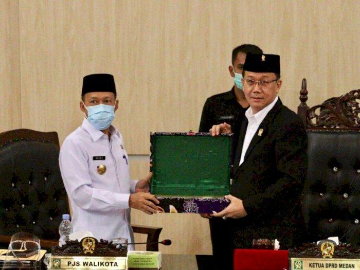 Wooow, DPRD Medan Setuju APBD Kota Medan 2021 Sebesar 5,15 T