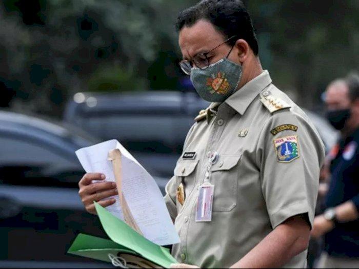 Kasus Harian Pecah Rekor, Anies Baswedan: Kondisi Covid-19 di DKI Masih Terkendali