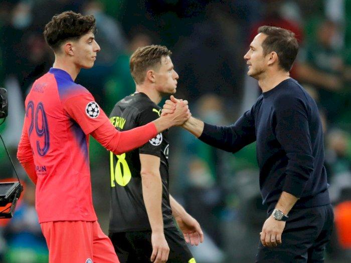 Sembuh dari Corona, Lampard Isyaratkan Havertz akan Kembali Bela Chelsea di Liga Champions