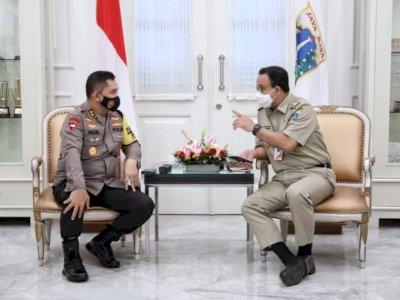 Dikunjungi Kapolda Baru yang Pernah Usut Kasus Habib Rizieq, Reaksi Anies Mengejutkan!