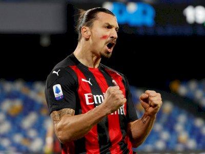 FOTO: Liga Italia, Napoli Takluk 1-3 dari AC Milan
