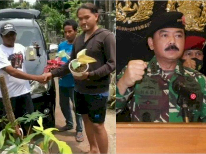 POPULER: Pria Ini Tukar Bunga dengan Mobil, Panglima TNI Soal Revolusi Akhlak Habib Rizieq