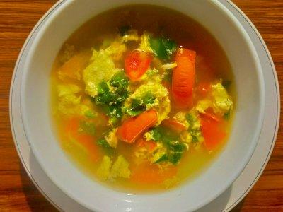 Cobain Resep Mudah Tan Hua Tang atau Sup Tomat Telur yang Nikmat