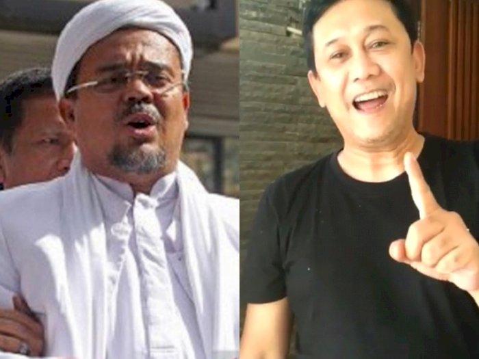 Rizieq Shihab Sakit Diduga Kena COVID-19, Kata Denny Siregar: Jangan Bilang-bilang Ya
