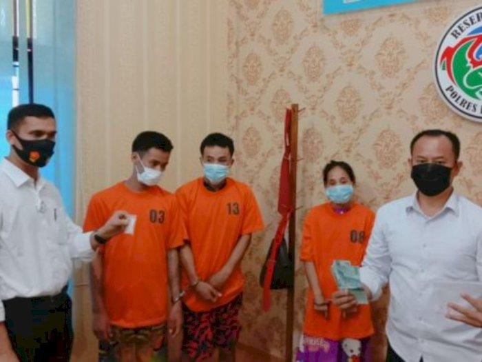 Satu Keluarga di Sumut Mengedarkan Sabu, Omset per minggu Menggiurkan