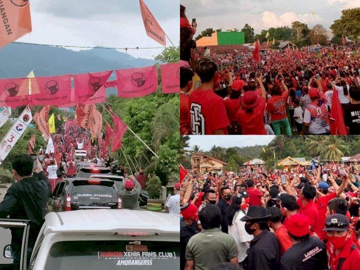 Geger Kerumunan Massa pada Acara Politikus PDI Perjuangan, Netizen: Yang Ini Mah Bebas