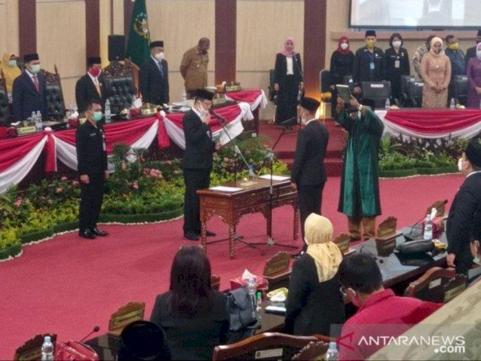 Maju Pilkada Medan, Aulia Rachman PAW, Haris Kelana Damanik Jadi Anggota DPRD Medan