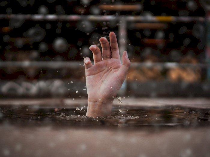 Ditinggal Sang Kakak Main TikTok, Seorang Bocah 8 Tahun Tewas Tenggelam di Kolam Renang