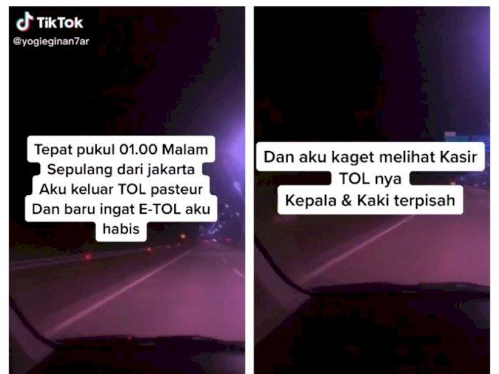 Posting Pengalaman Horor Kepala dan Kaki Petugas Tol Terpisah, Pria Ini Dikeroyok Netizen
