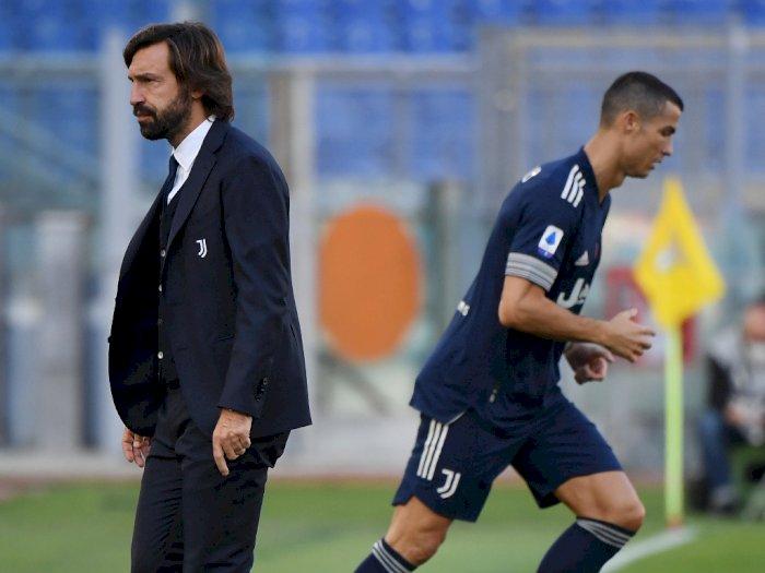 Bantah Beri Perlakuan Khusus pada Ronaldo, Pirlo: Semua Pemain Sama!