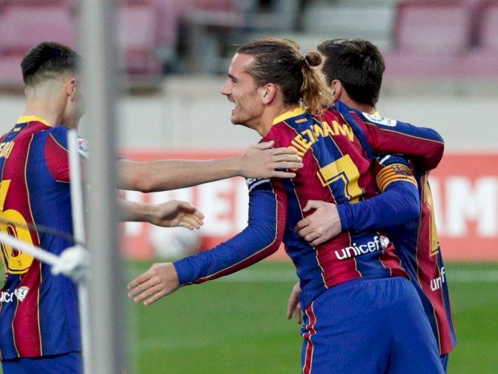 Griezmann: Rambut Saya akan Tetap Gondrong Walau Barcelona Suruh Potong