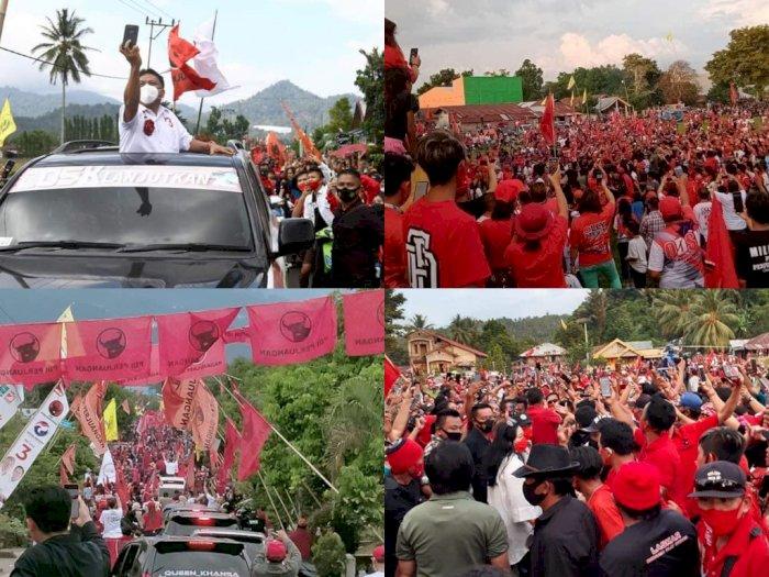 Heboh! Pamer Kerumunan Massa Acara Politik, Unggahan Medsos PDI Perjuangan Diserbu Netizen