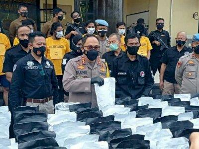 Heboh BCL Ditangkap Polisi karena Kasus Narkoba, Polisi Sita 150 Kg Tembakau Gorila
