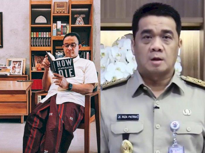 Heboh Anies Baca Buku 'How Democracies Die', Wagub DKI Riza: Enggak Usah Lebay!