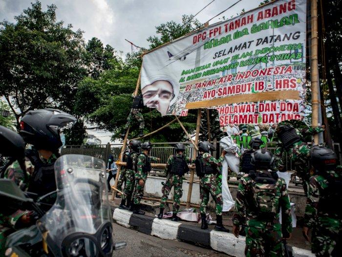 Terungkap Simpang Siur Aktor Utama Jajaran TNI yang Perintahkan Pencopotan Baliho HRS