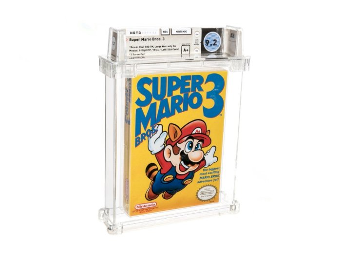 Game Super Mario Bros 3 untuk NES Ini Terjual Seharga Rp2,2 Miliar!