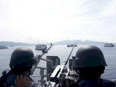 FOTO: Uji Terampil Prajurit TNI AL