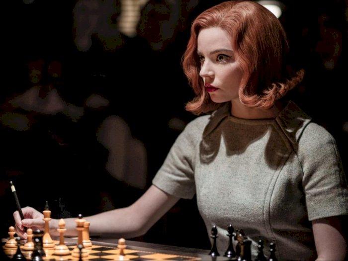 Ditonton 62 Juta Akun, The Queen's Gambit Jadi Serial Terbatas Populer di Netflix