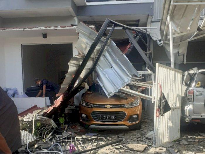 Gas 12 Kg Meledak di Bekasi, 3 Rumah Hingga Mobil Rusak