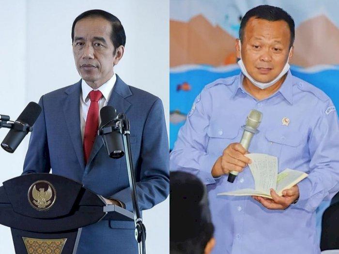 Menteri Edhy Prabowo Ditangkap KPK, Jokowi: Kita Hormati Proses Hukum