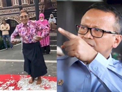 Senyum Semringah Susi Tari Piring Sebelum Edy Prabowo Ditangkap KPK Kasus Ekspor Benur