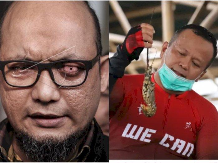 Mata Rusak Novel Baswedan Mampu Tangkap Menteri Edhy Prabowo, Kasus Ekspor Benur Lobster