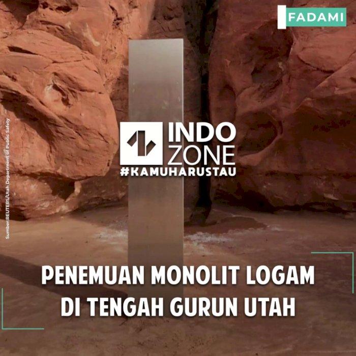 Penemuan Monolit Logam di Tengah Gurun Utah