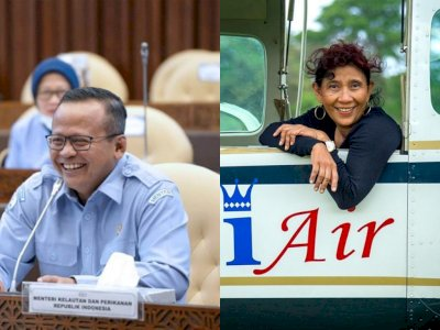 Menteri KKP Edhy Prabowo Ditangkap KPK, Netizen Minta Susi Pudjiastuti Kembali