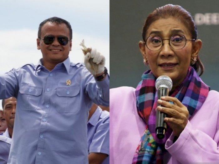 Kocak! Menteri Kelautan dan Perikanan Ditangkap KPK, Netizen: Kami Merindukan Bu Susi