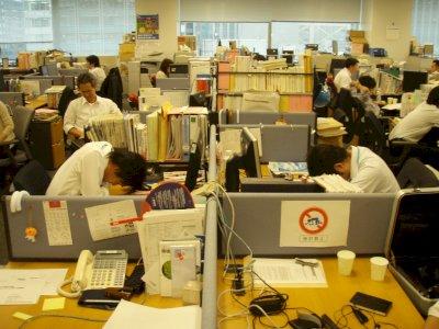 Fenomena Inemuri, Tidur di Tempat Kerja di Jepang