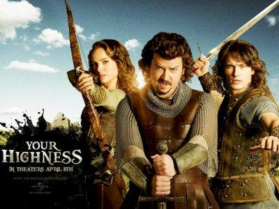Sinopsis 'Your Highness (2011)' -  Misi Penyelamatan Calon Istri Pangeran