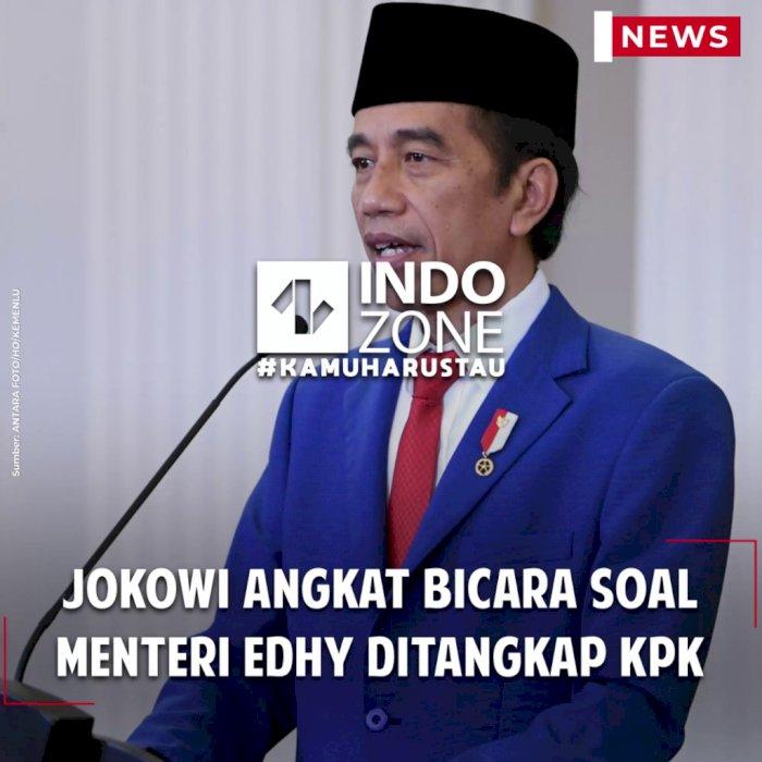 Jokowi Angkat Bicara Soal Menteri Edhy Ditangkap KPK