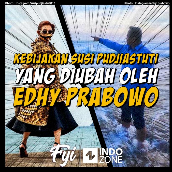 Kebijakan Susi Pudjiastuti yang Diubah oleh Edhy Prabowo