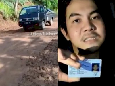 POPULER: Detik-detik Pickup Terjun ke Jurang, Pria Ditahan Akibat 'Brimob Kacung China'