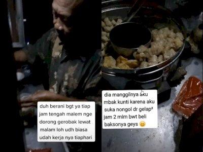 Pengalaman Mistis Pak No Jualan 'Bakso Hantu', Pernah Alami Hal Horor Serupa Film Suzzanna
