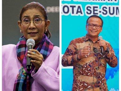 Sebelum Ditangkap KPK, Susi Pudjiastuti Sempat 'Sentil' Edhy Prabowo soal Benih Lobster