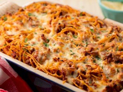 Resep Spaghetti Brulee, Dijamin Bikin Kamu Nambah Terus