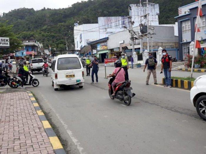 Baru Sejam Razia di Distrik Abepura Papua, 18 Kendaraan Diamankan Polisi