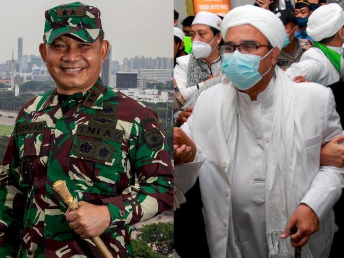 Akui Habib Rizieq Orang Berilmu, Pangdam Jaya Tak Pernah Anggap FPI Sebagai Musuh