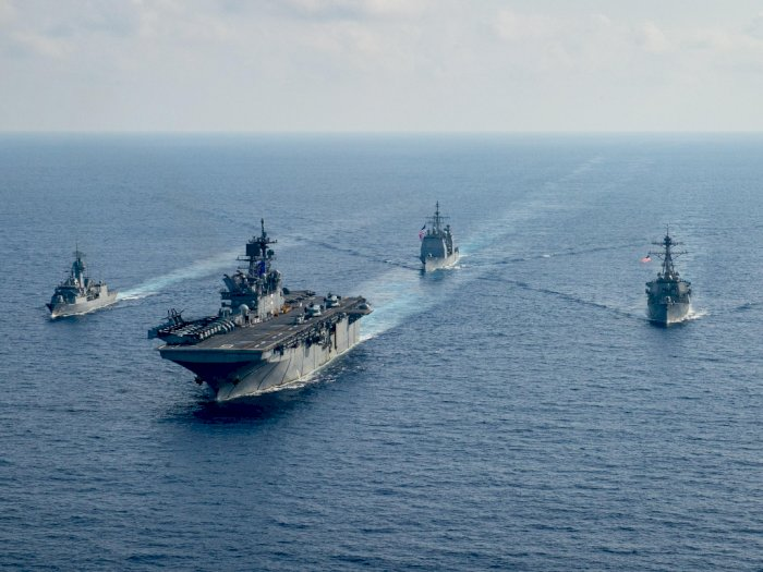 Konflik Laut China Selatan Memanas, Kedubes Tiongkok Sebut Amerika Sebagai Provokator