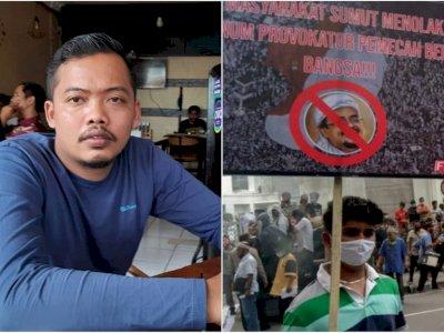 Rizieq Shihab Mau ke Medan Muncul Baliho Penolakan, Ini Kata HMI Sumut