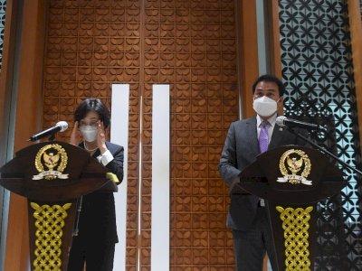 FOTO: Pertemuan DPR Dengan Parlemen Korsel