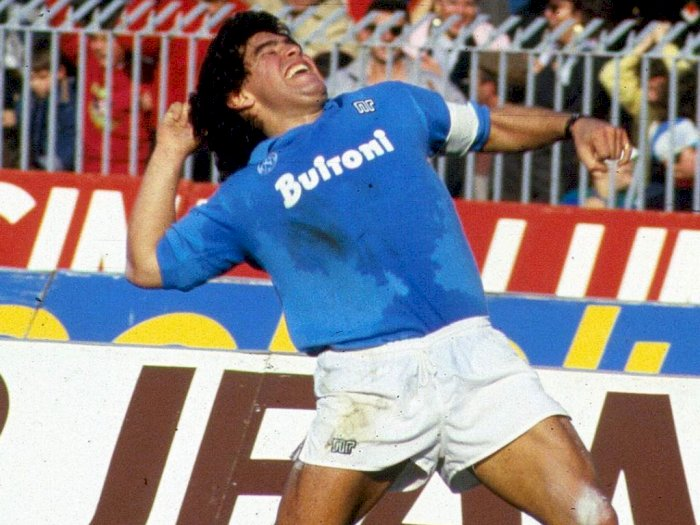 Bukan Barcelona, Maradona Paling Bersinar saat Membela Napoli