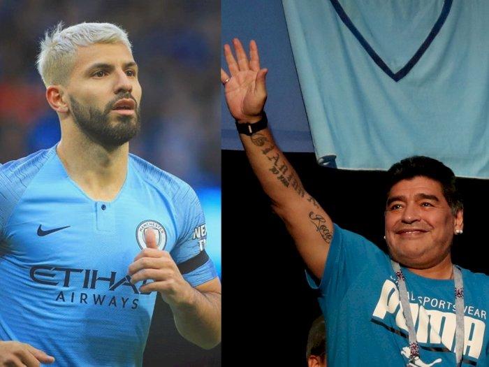Ucapan Belasungkawa dari Mantan Menantu Maradona, Sergio Aguero