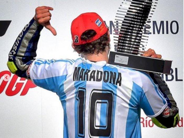 Valentino Rossi Berduka Atas Kepergian Maradona