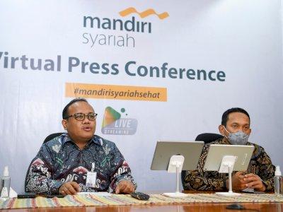 FOTO: Mandiri Syariah Luncurkan Tabungan Emas Digital