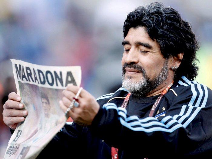 Maradona Tutup Usia, Napoli akan Sematkan Nama Sang Legenda di Stadionnya
