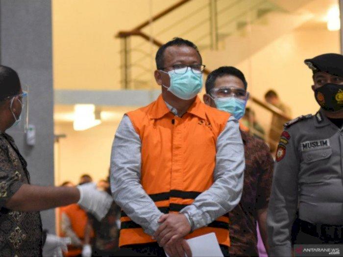 Ditetapkan Tersangka, Edhy Prabowo: Minta Maaf Pak Jokowi, Saya Sudah Mengkhianati